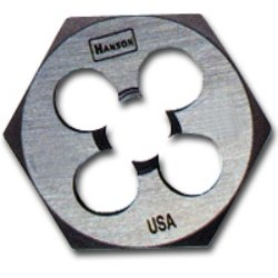 IRWIN INDUSTRIAL, Die Hexagon 10in-24nc Hc Steel, CD - Nc Hexagon Die