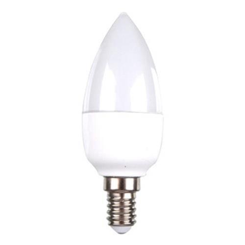 Bombilla LED E14 230V oliva 6W luz blanca natural: Amazon.es: Iluminación