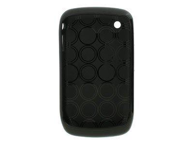 Nexxus Gel Case for Blackberry 8520 - Solid Black (Nexxus Parts)