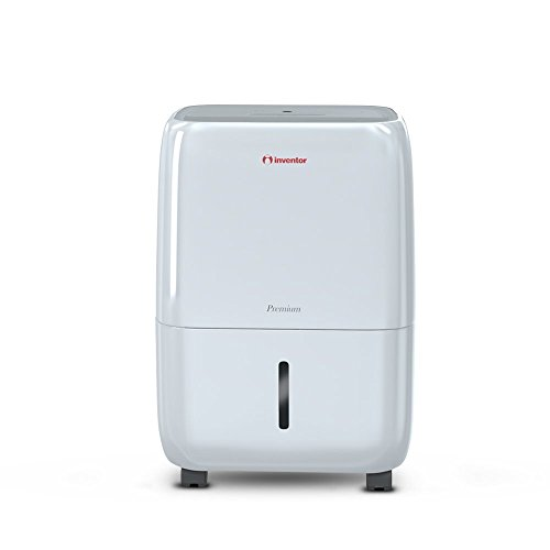 Inventor 20 Litres/day Dehumidifier, Ionizer , Laundry Dryer and Smart Dehumidification, Premium for Lower Power Consumption