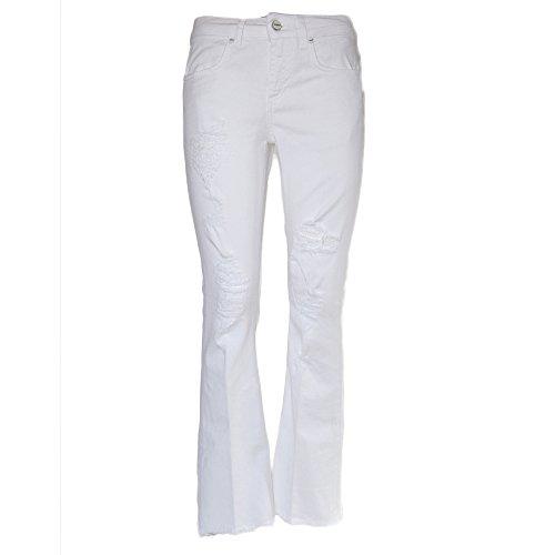 Donna Bianco Cotone Dondup Jeans Dp297bs009dr23000 5nxA06q