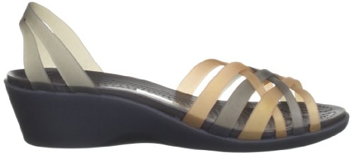 Sandales Or Espresso Bronze femme Crocs Huarache w7Cq5R