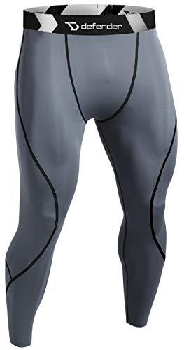 Performance Team Warm Up Pant - Defender Compression Pants Men Under Thermal Tights Skin Sports Fits Soccer KY_S
