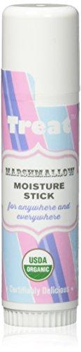 TREAT Jumbo Marshmallow Moisture Stick, Organic & Cruelty Free (.50 OZ)