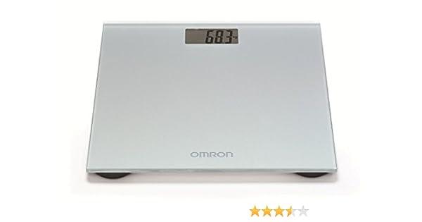 OMRON HN289 - Báscula de baño digital, 5 Kg a 150 Kg, pilas incluidas, color gris: Amazon.es: Salud y cuidado personal