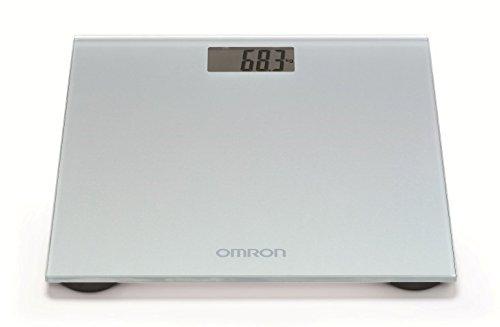 Omron HN-289-E Electronic Personal Scale Gris - Báscula de baño (LCD, Gris)