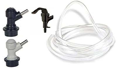 Ball Lock Dispense Kit (Ball Lock Liquid In and Gas Out, Tubing, and Faucet)