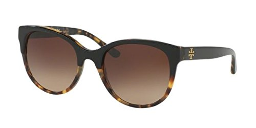 Tory Burch Women TY7095 54 Black/Brown Sunglasses - Burch Tory Men