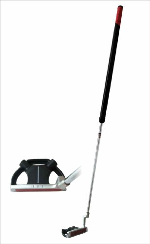 Precise SP-009 Stainless Belly Putter with Winn Grip and Bonus Headcover (Right Hand, 42 Inch)