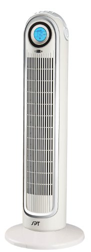 SPT SF-1521 LCD Remote Controlled Tower Fan with ION