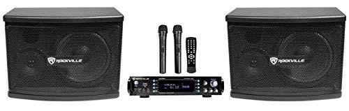 Rockville RPA70WBT Bluetooth Karaoke Amplifier/Mixer+ Mics+