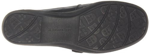 Naturalizer Womens Mosa Flat Black Leather muMGZxUoL