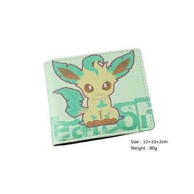 3eb7e832fcfb Portefeuille Homme Femme Maroquinerie Cuir Porte Monnaie Sac Sacoche Manga  Cosplay Pokemon Go Bag Pikachu vert Des bandes dessinées Argent liquide