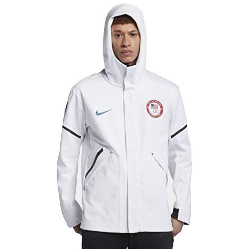 NIKE Men's 2018 USA Tech Fleece Windrunner Winter Olympic Team Jacket (Large) (Jacket Usa Team)