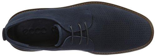 ECCO Jeremy, Zapatos de Cordones Derby para Hombre Azul (2058navy)