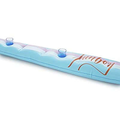 FUNBOY Inflatable Party Board Drink Holder Pool Float: Sports & Outdoors