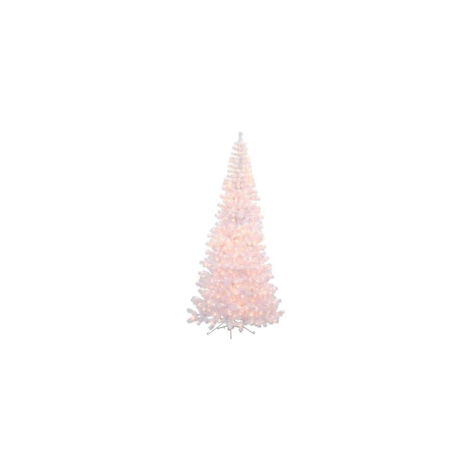7.5 ft. Corner Pre Lit Christmas Tree