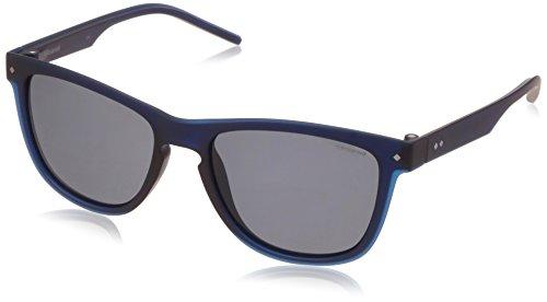 Polaroid 2037S M3Q Blue Palladium 2037S Square Sunglasses Polarised Lens - Polaroid Polarised Sunglasses