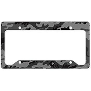 Enchanting Aluminum License Plate Frame Illustration - Custom ...