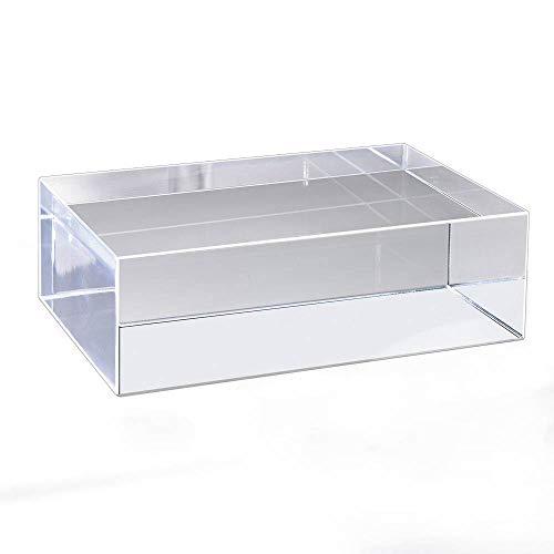 - Mirart Clear Acrylic Cube (6