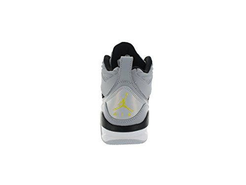 Jordan volo 9,5 da uomo sneakers 654262 – 070 Wolf Grey/Black/PURE PLATINUM/Vibrant Yellow