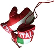 Italy Mini Boxing Gloves for Car Mirror Collectables , Italian's Fans , Great