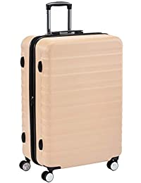 Premium Hardside Spinner Suitcase Luggage with Wheels, 28-Inch, Pink