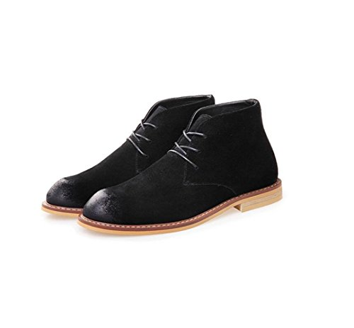 Ribbon Soft Canvas Sport Primavera Autunno Round Uomo Business Casual Black Punta da Colore Inverno Estate A zmlsc Scarpe BYqcA