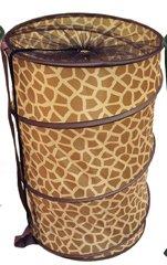 Home Basics Barrel Hamper (Giraffe)
