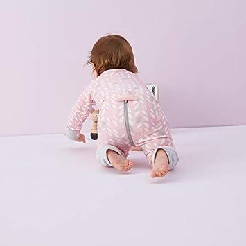 Baby Schlafsack aus Jersey Bio Baumwolle Spring Leaves 1.0 Baby SchlafsackSleep Suit Bio Baumwolle 2 Jahre