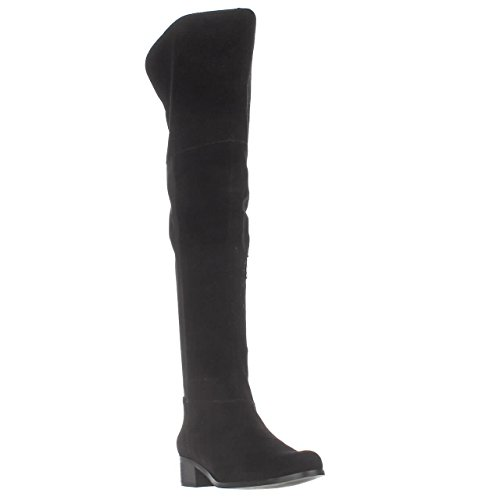 Charles by Charles David Giza Over-The-Knee Boots, Black, 6 US
