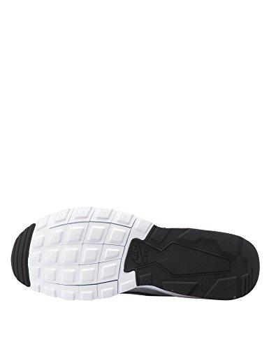 Nike Air Max Mens Movimento Corridore Scarpe Da Ginnastica Bianche-blu Bianco / Oltremare-solar Rosso-off Bianco