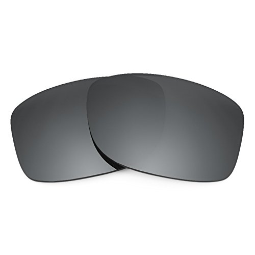 Revant Polarized Replacement Lenses for Oakley Jupiter Squared Black Chrome MirrorShield (Jupiter Squared Lenses Replacement Oakley)