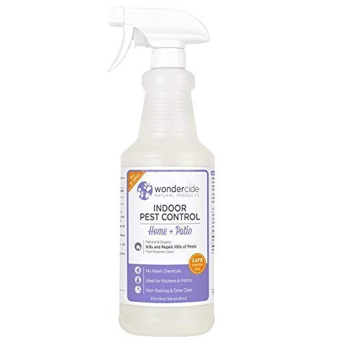 Wondercide Natural Indoor Pest Control Home and Patio Spray 32 oz Rosemary