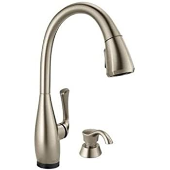 Dominic Single Handle Pull Down Sprayer Kitchen Faucet