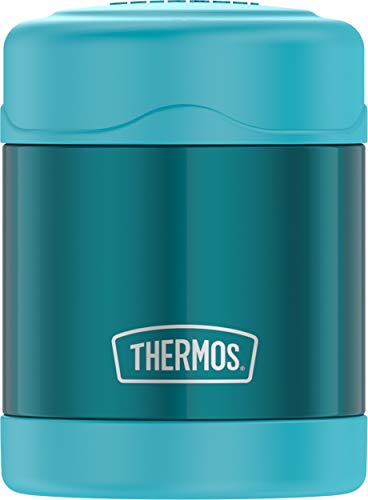 Thermos Funtainer 10 Ounce Food Jar, Teal (Stainless Food Jar)