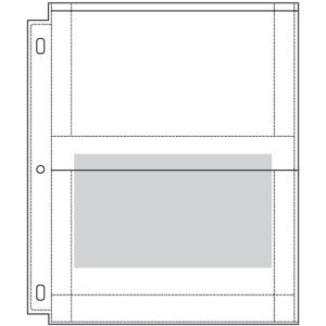 Formula Manufacturing International LLC Poly Photo Refill Pages. 25pk, (4-5 X 7)