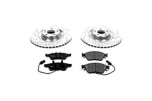 Power Stop K4570 Front Brake Kit with Drilled/Slotted Brake Rotors and Z23 Evolution Ceramic Brake Pads ()