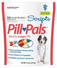 Pill Pals for Large Pills, 7.4 oz (Approximately 30 doses...