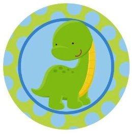 Amazon.com : Dinosaur Baby Bronto ~ Edible Image Cake, Cupcake Topper