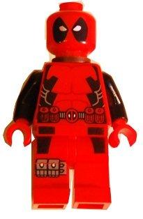 Lego Heros Avengers Deadpool Mini Figure 2012 NEW (Loose Figure Only)