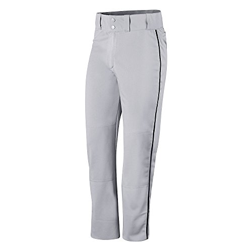 Champion Mens and Youth Prospect Baseball Open Bottom Pant # BS65 Steel Grey/Black