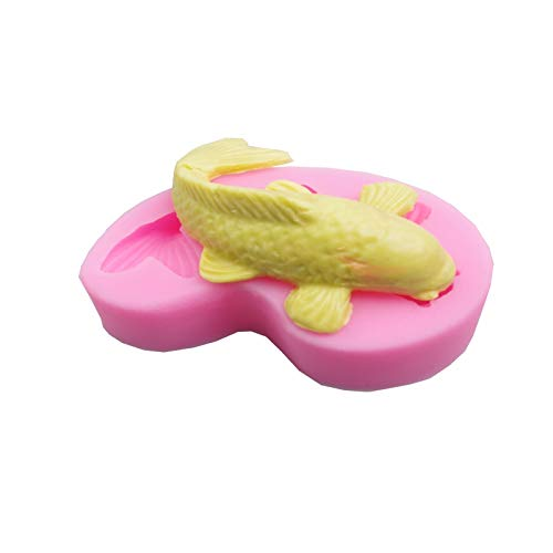 1 piece HOT 3D fish shape silicone cake mold For fondant decorating tools Mould silicone soap DIY cooking tools Q-454