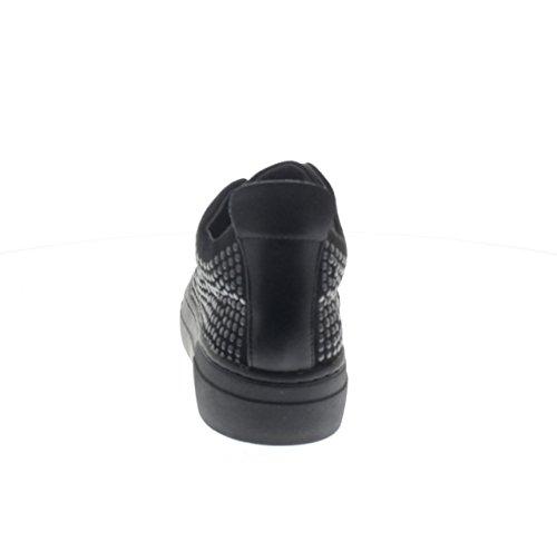 Deslizan La DB922 Noir de Zapatillas Negro Plataforma Cafè Nero de Se Mujer Noir EN Zapatos Deporte CAFèNOIR CAF Elástica wOZFqZ