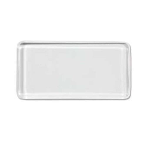 Clear Glass Tile Pendant Rectangles for Jewelry Making 24mm X 48mm By Craft Making Shop - 40 Pieces by BeadSmith