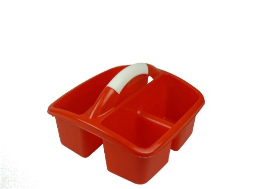 Romanoff Deluxe Small Utility Caddy, Red by Romanoff Products Inc