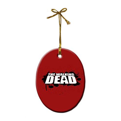 The Walking Dead Fashion Porcelain Gift Hanging Ornament