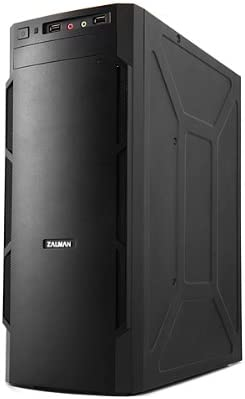 Zalman ZM-T1 Mini-Tower Negro - Caja de Ordenador (Mini-Tower, PC, De plástico, Acero, Negro, Micro ATX,Mini-ITX, 92 mm): Amazon.es: Informática
