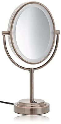 Conair BE151T Double-Sided Illuminated Oval Mirror