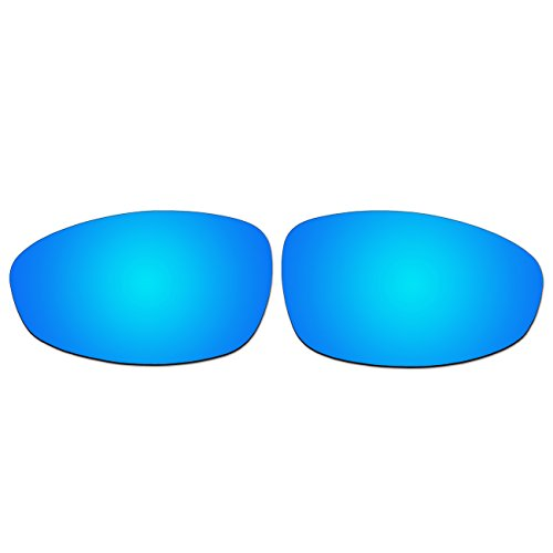 Replacement Ice Blue Polarized Lenses for Oakley Juliet - Are Iridium Lenses Polarized